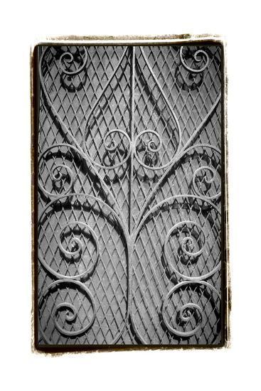 French Quarter Ironwork I-Laura Denardo-Art Print