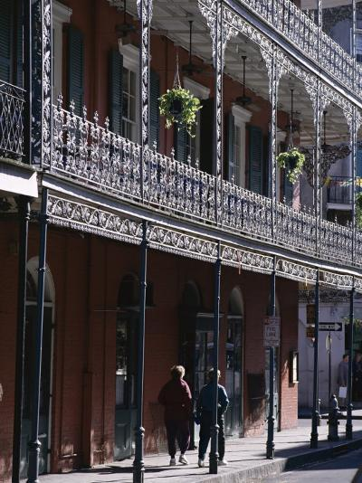 French Quarter, New Orleans, Louisiana, United States of America (Usa), North America-Charles Bowman-Photographic Print