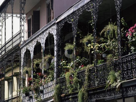 French Quarter, New Orleans, Louisiana, USA-Charles Bowman-Photographic Print