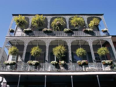 French Quarter, New Orleans, Louisiana, USA-Bruno Barbier-Photographic Print