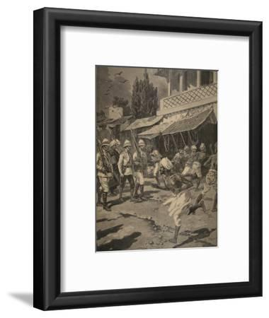 Rebellion in Bombay, Illustration from 'Le Petit Journal: Supplement Illustre', 1898 (Litho)