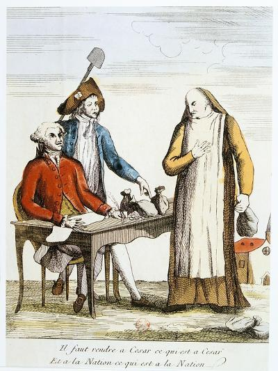 French Revolution 1789: Anti-Clericalism--Giclee Print