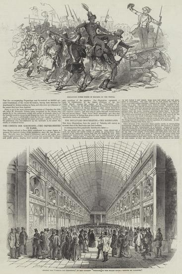 French Revolution of 1848--Giclee Print