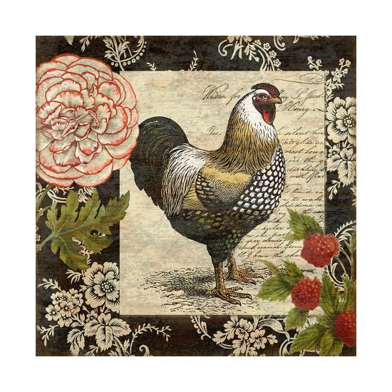 French Rooster I-Suzanne Nicoll-Giclee Print