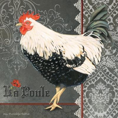 French Rooster II-Gwendolyn Babbitt-Art Print