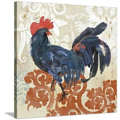 French Rooster--Stretched Canvas Print