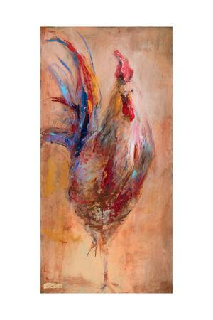 French Rooster-JC Pino-Art Print
