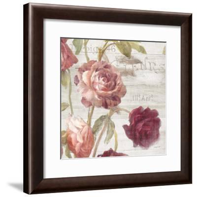 French Roses IV-Danhui Nai-Framed Art Print