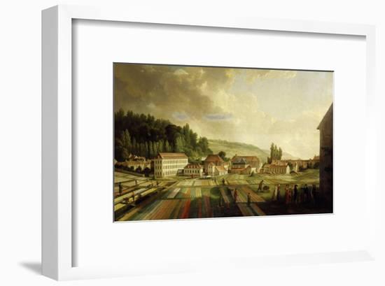 French Royal Textile Factory, Jouy-en-Josas, France, 1806-Jean-Baptiste Huet-Framed Giclee Print