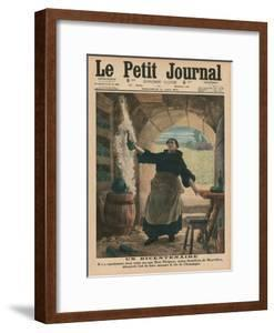 A Bicentenary, Two Hundred Years Ago Precisely, Dom Perignon, a Benedictine Monk of Hautvillers,… by French School