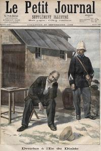 Alfred Dreyfus on Devil's Island, illustration from 'Le Petit Journal', September 1896 by French School