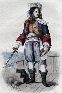 Anne Hilarion de Costentin (Cotentin), comte de Tourville, French naval commander by French School