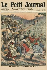 Celebrating the Wine Harvest in Alsace by French School