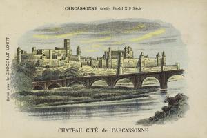 Chateau Cite De Carcassonne, Carcassonne, Aude by French School