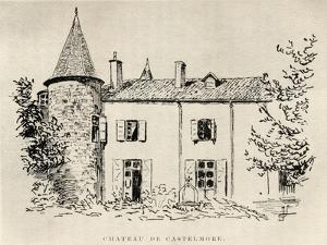 Chateau de Castelmore, from 'Memoires de Charles de Batz-Castelmore Comte d'Artagnan', Published… by French School