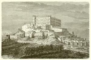 Chateau De Grignan by French School