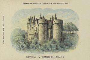 Chateau De Montreuil-Bellay, Montreuil-Bellay, Maine-Et-Loire by French School