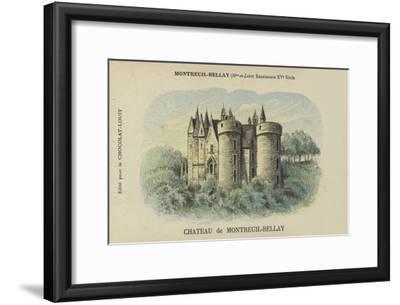 Chateau De Montreuil-Bellay, Montreuil-Bellay, Maine-Et-Loire