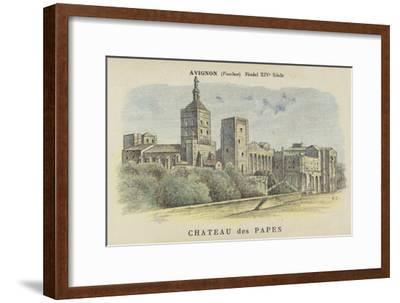 Chateau Des Papes, Avignon, Vaucluse