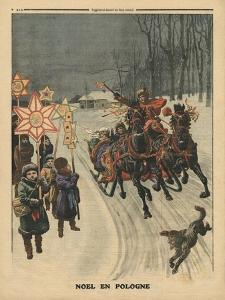 Christmas in Poland, Illustration from 'Le Petit Journal', Supplement Illustre, 24th December 1911 by French School