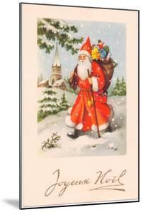 Christmas Postcard, c.1907 by French School