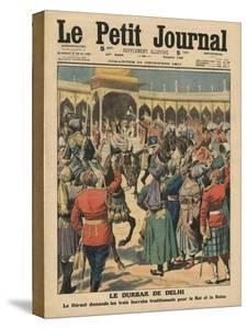 Delhi Durbar, Illustration from 'Le Petit Journal', Supplement Illustre, 24th December 1911 by French School
