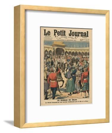 Delhi Durbar, Illustration from 'Le Petit Journal', Supplement Illustre, 24th December 1911