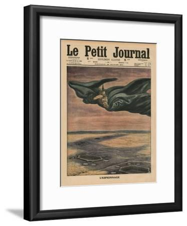 Espionage, Front Cover Illustration from 'Le Petit Journal', Supplement Illustre, 22nd February…