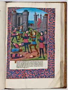 First Jewish-Roman War in Jerusalem, 70 AD by French School