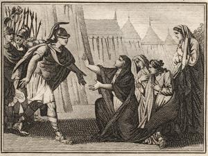Gaius Marcius (Caius Marcius) Coriolanus and his mother Veturia (488 BC) by French School