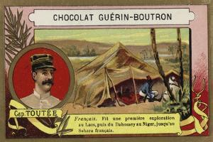 Georges-Joseph Toutee, French Soldier and Explorer by French School