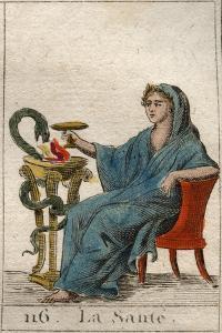 Health, plate 116 from 'Mythologie de la jeunesse' by Pierre Blanchard, 1803 by French School