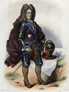 Louis Joseph de Bourbon, Duke of Vendome, French military commander and Marshal of France by French School