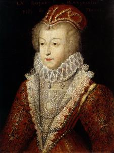 Margaret of Valois and France, also Queen Margot, 1553-1615, Sister of Henry III by French School