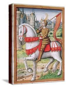 Ms 17 F.76 Joan of Arc from 'Vie Des Femmes Celebres', C.1505 by French School