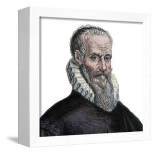 Portrait of Ambroise Pare (1509-1590), French surgeon by French School