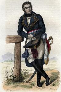 Portrait of Andre Massena (1758-1817), 1st Duc de Rivoli, 1st Prince d'Essling, military commander by French School