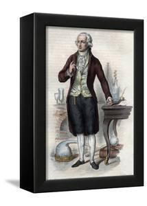 Portrait of Antoine Laurent de Lavoisier (1743-1794), French chemist by French School