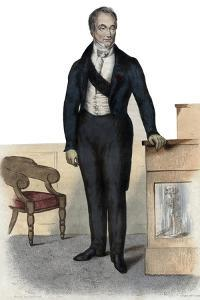 Portrait of Baron Guillaume Dupuytren (1777-1835), French anatomist and military surgeon by French School
