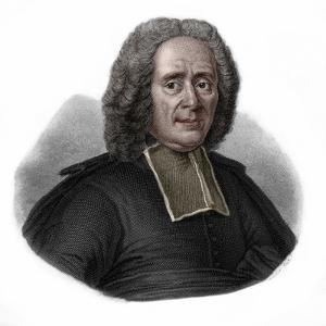 Portrait of Charles Rollin (1661-1741) French historian and educator by French School