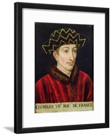 Portrait of Charles VII (1403-61) King of France