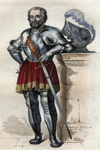 Portrait of Chevalier de Bayard (1475-1524), French soldier by French School