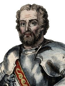 Portrait of Chevalier de Bayard (1476-1524), French soldier by French School
