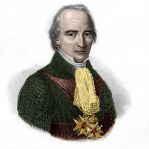 Portrait of Francois Barbe-Marbois, marquis de Barbe Marbois (1745-1837) french politician by French School