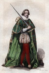 Portrait of Francois de Bonne, duc de Lesdiguieres, French soldier and Constable of France by French School