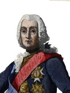 Portrait of Francois de Chevert (1695-1769), French general by French School
