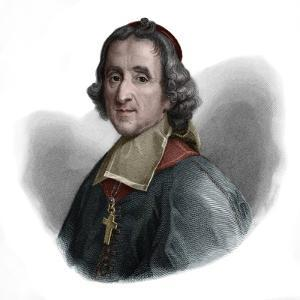 Portrait of Francois Fenelon (1651-1715) French Catholic archbishop, theologian, poet and writer by French School