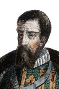 Portrait of Francois I de Lorraine, Duke of Guise, Duke of Aumale, French soldier and politician by French School