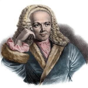 Portrait of Francois Quesnay (1694-1774) French physician and economist by French School