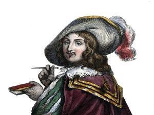 Portrait of Francois VI, Duc de La Rochefoucauld, Prince de Marcillac (1613-1680), French author by French School